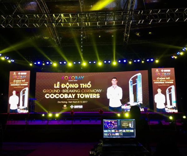 LỄ ĐỘNG THỔ GROUND - BREAKING CEREMONY - COCOBAY TOWERS